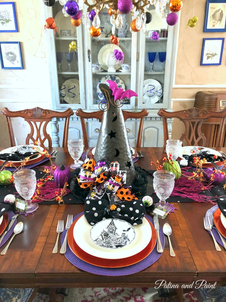 Witchy Halloween Dining Table