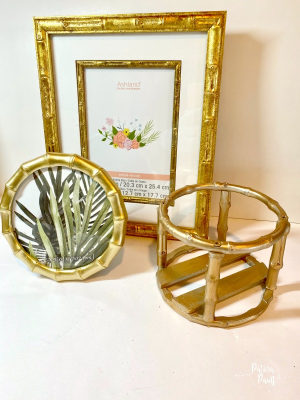 picture frames, candleholders