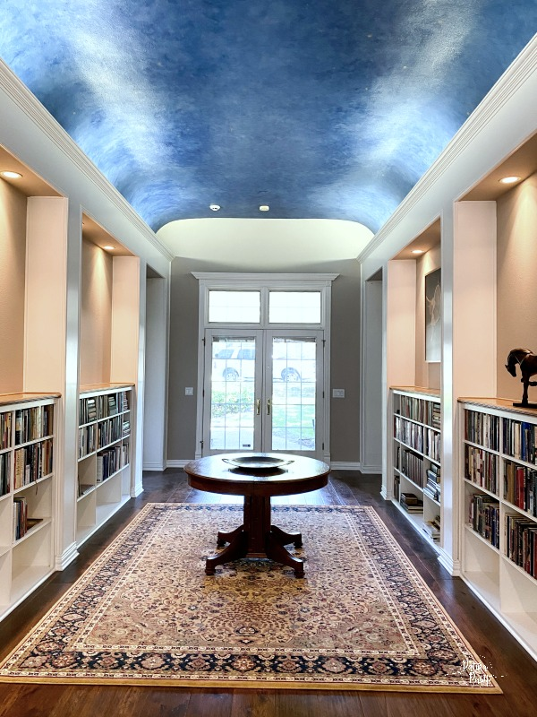 library entry way