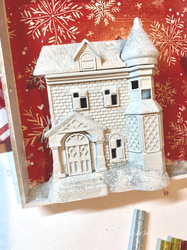 white box, house