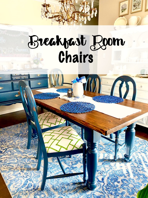 Breakfast Room Chairs