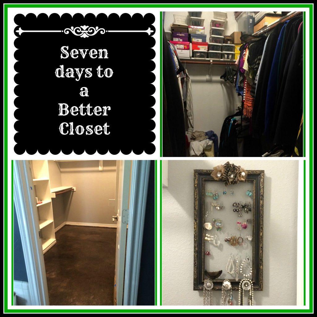 Seven Days To A Better Closet – Makeover Part 1