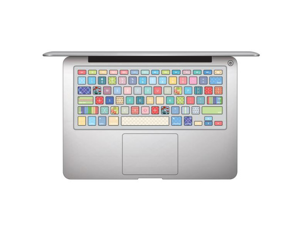 computer keyboard stickers