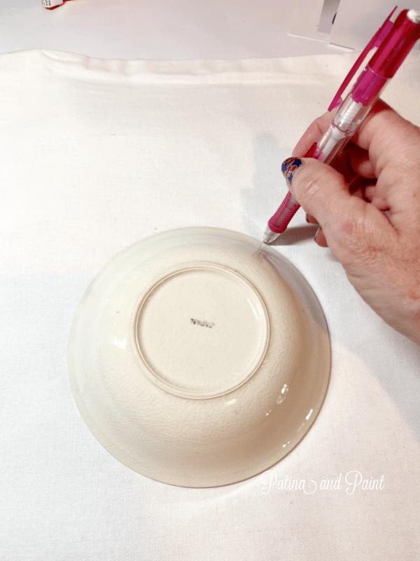 drawing a circle