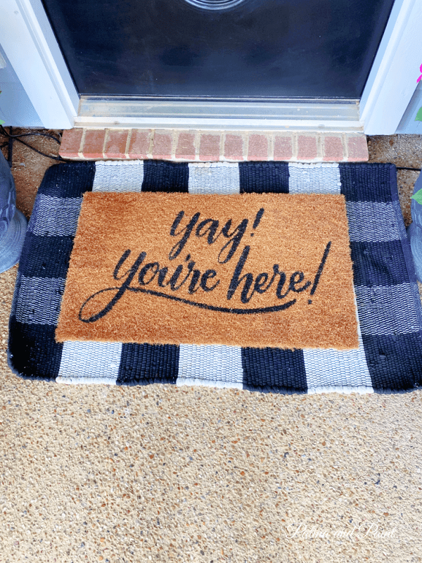 door mat and rug