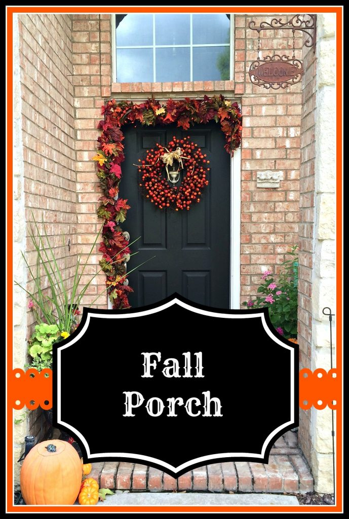 Fall Porch – stage 1