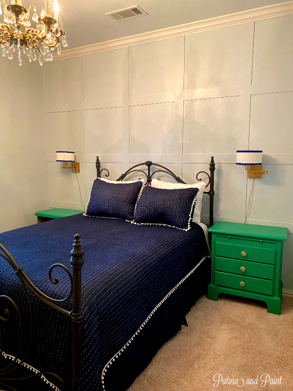 Guest Bedroom focal wall