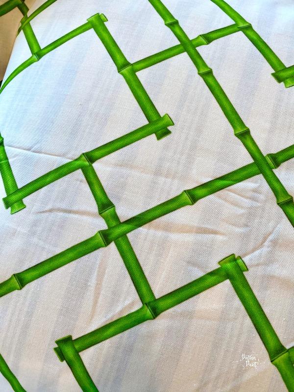 Osaka bamboo trellis fabric