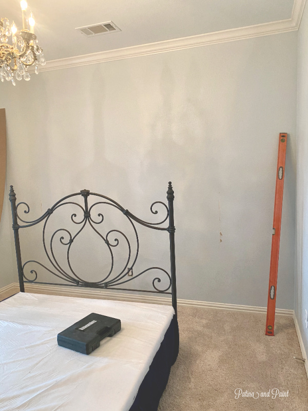 guest bedroom wall