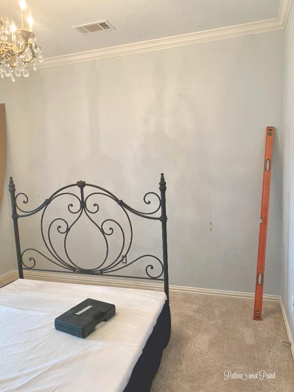 guest bedroom wall