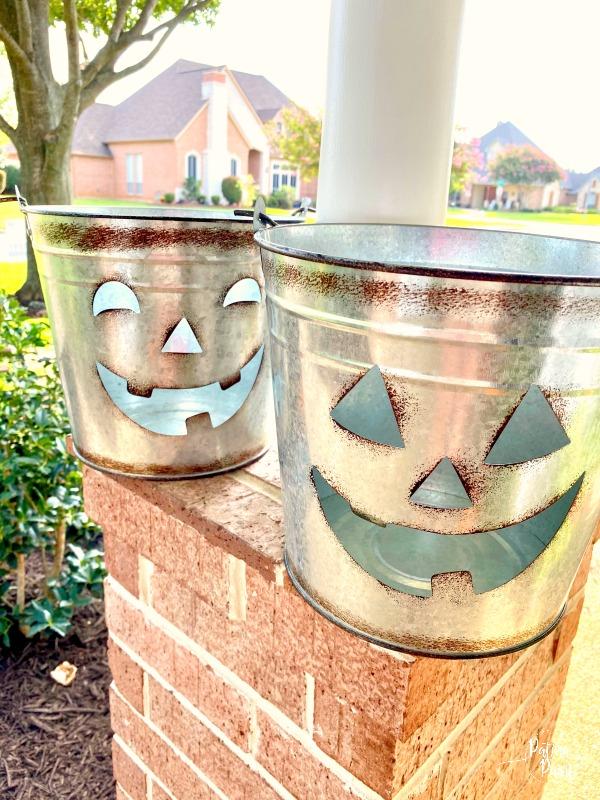 jack-o-lantern pails