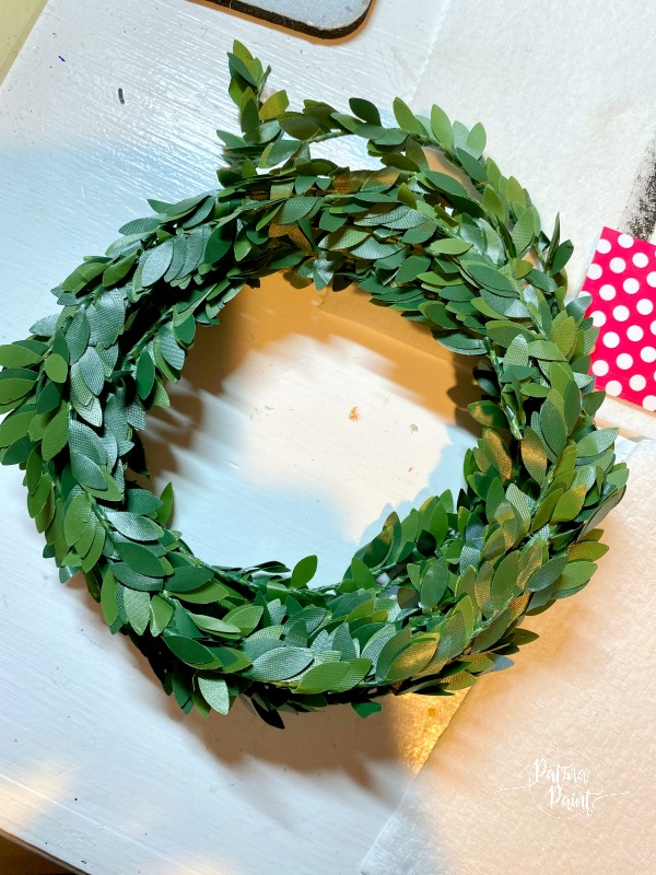 small wreath