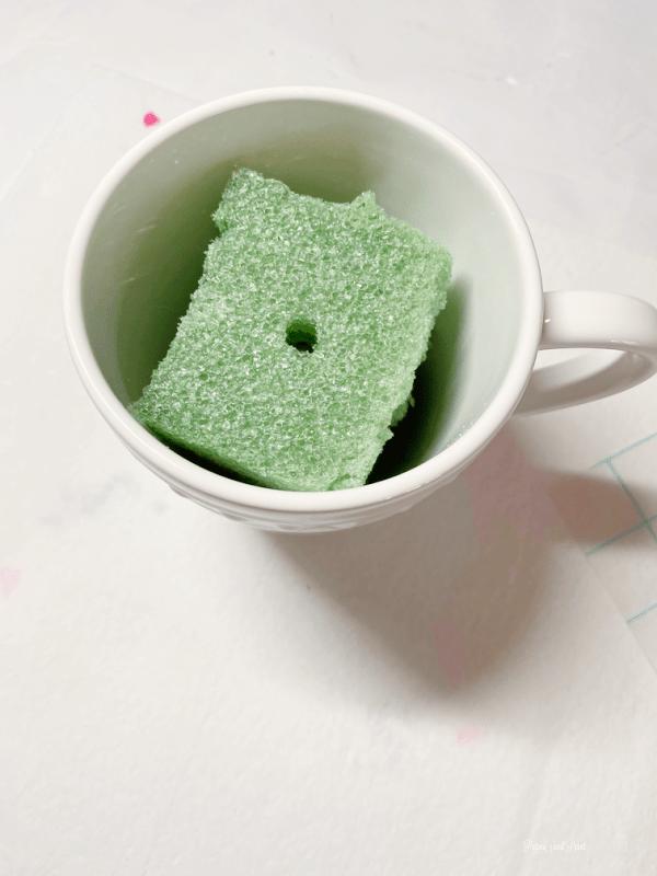 mug, styrofoam