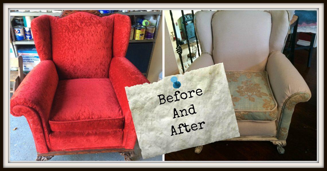 Reupholstering Big Red