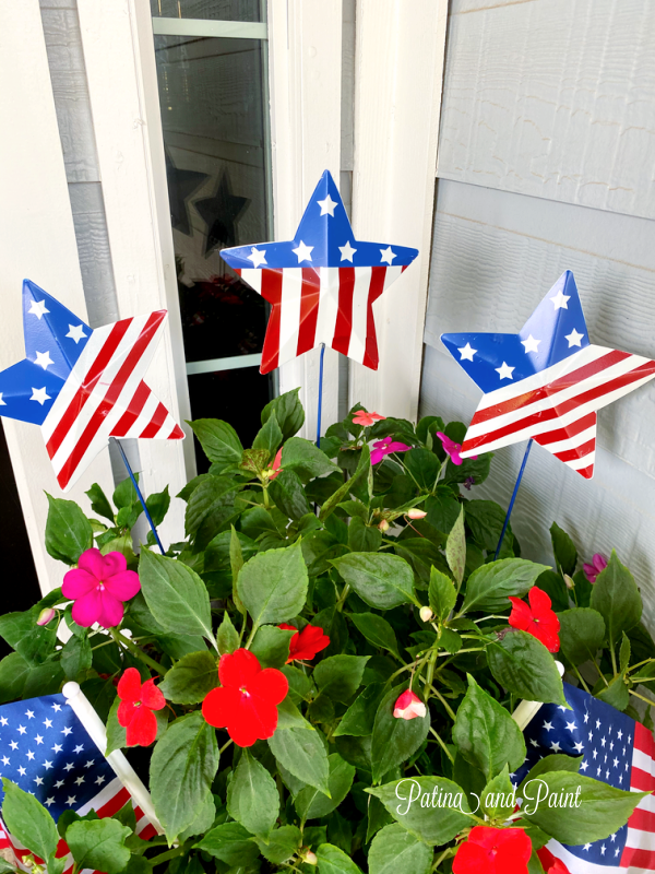 Last Minute Memorial Day Front Porch