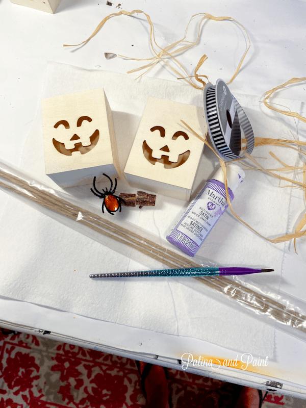Pumpkin Luminary supplies
