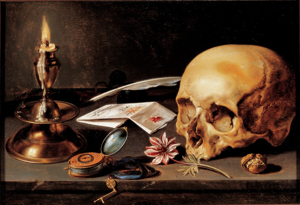 Vanitas still life | Blog post: Materialism & Symbolism in Dutch Golden Age Still Lifes | Patinatur Studio