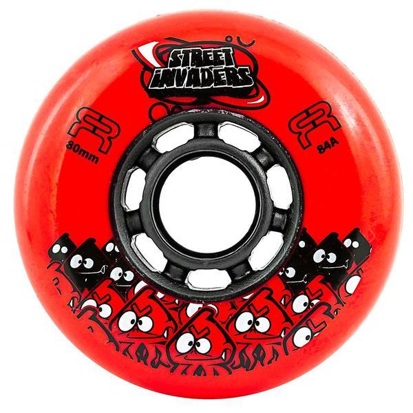 ruedas street invaders roja