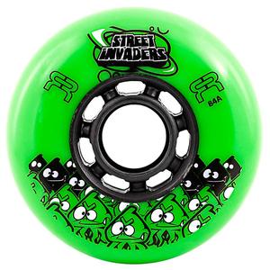 ruedas street invaders verde