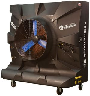 Port a cool hurricane 3600 evaporative cooling machine