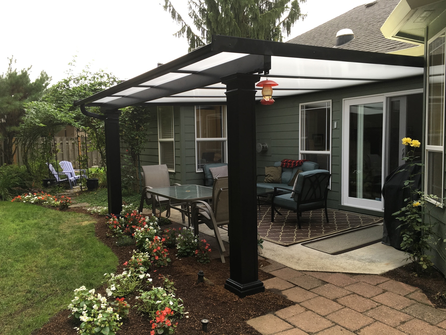 Patio Rooms & Covers, Sunrooms, Swimming Pool Enclosures on Patio Cover Ideas Images id=39339