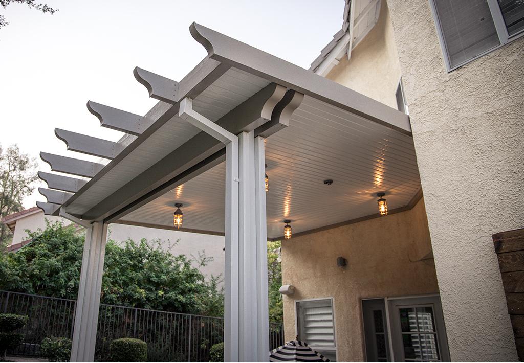 aluminum non insulated alumawood patio
