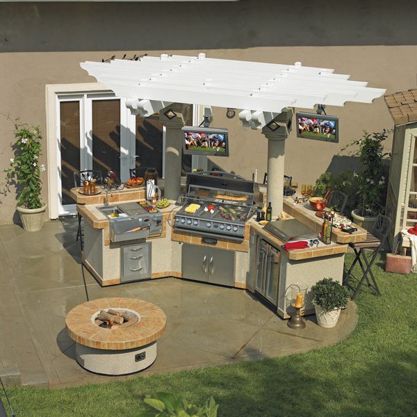 The Outdoor Man Cave | Patio & Hearth Blog on Man Cave Patio Ideas  id=47343