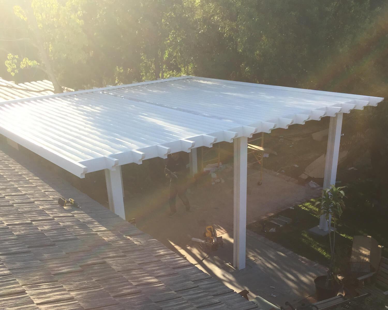 diy alumawood patio cover kits solid