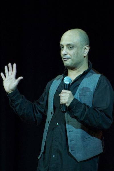 MC of last show Akmal Saleh