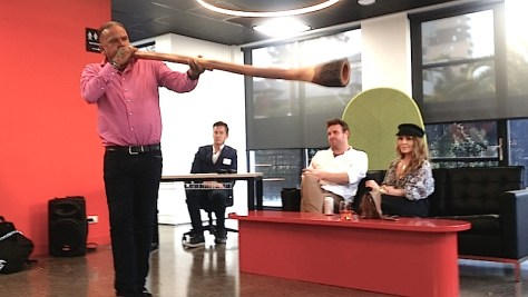 Stan Yarramunua at CoWork Me function image © Simon Barnett