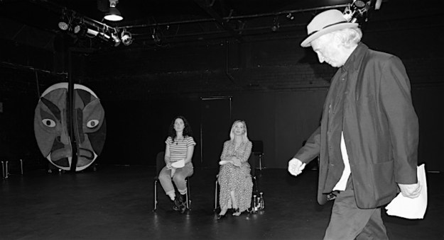 Darcy Taylor, Kristen Condon & Frank Howson at Cracked Theatre Company