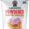 Endulzante Monk Fruit Lakanto en Polvo –  Azúcar Glass (Powdered Sugar)