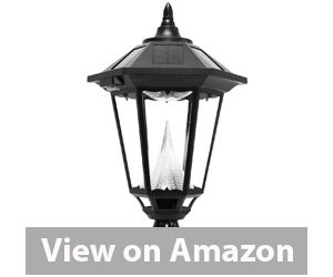 Best Outdoor Solar Lights - Gama Sonic Windsor Solar Outdoor LED Light Fixture Review