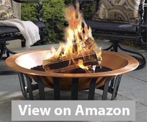 """Titan 40"""" Fire Pit Bowl Review"""