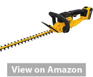 Best Hedge Trimmer - DEWALT DCHT820P1 Max Hedge Trimmer Review
