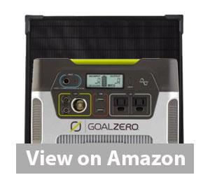 Best Solar Kit - Goal Zero Yeti 400 Solar Panel Review