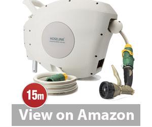 Best Garden Hose - Hoselink Automatic Retractable Garden Hose Reel Review