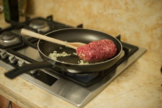 מלית הבשר בהתהוות צילום: יריב ויינברג