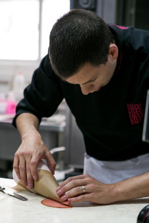 שף פאייה בפעולה צילום: שירן כרמל