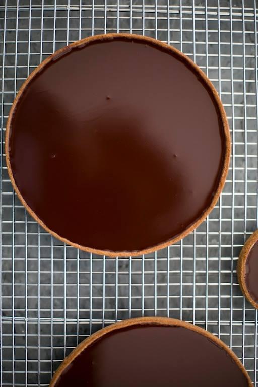 טארט שוקולד צילום: שירן כרמל לדנון