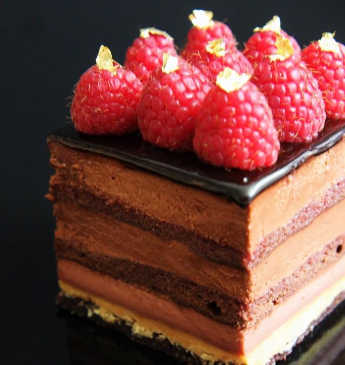 שוקולד פטל מוגזם - גירסה סופית. צילום וביצוע: צבי אבידור