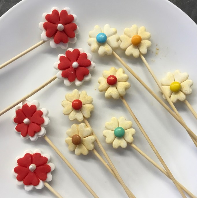 פרחים על שיפודים