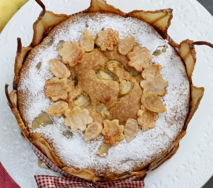 עוגת אגסים סתווית