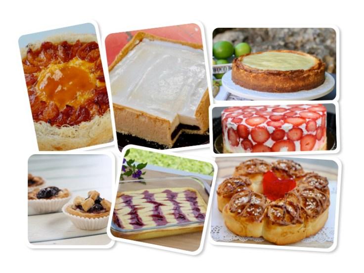 מקבץ שבועות עוגות גבינה