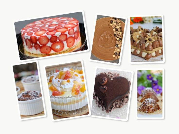 עוגות וקינוחים לפסח
