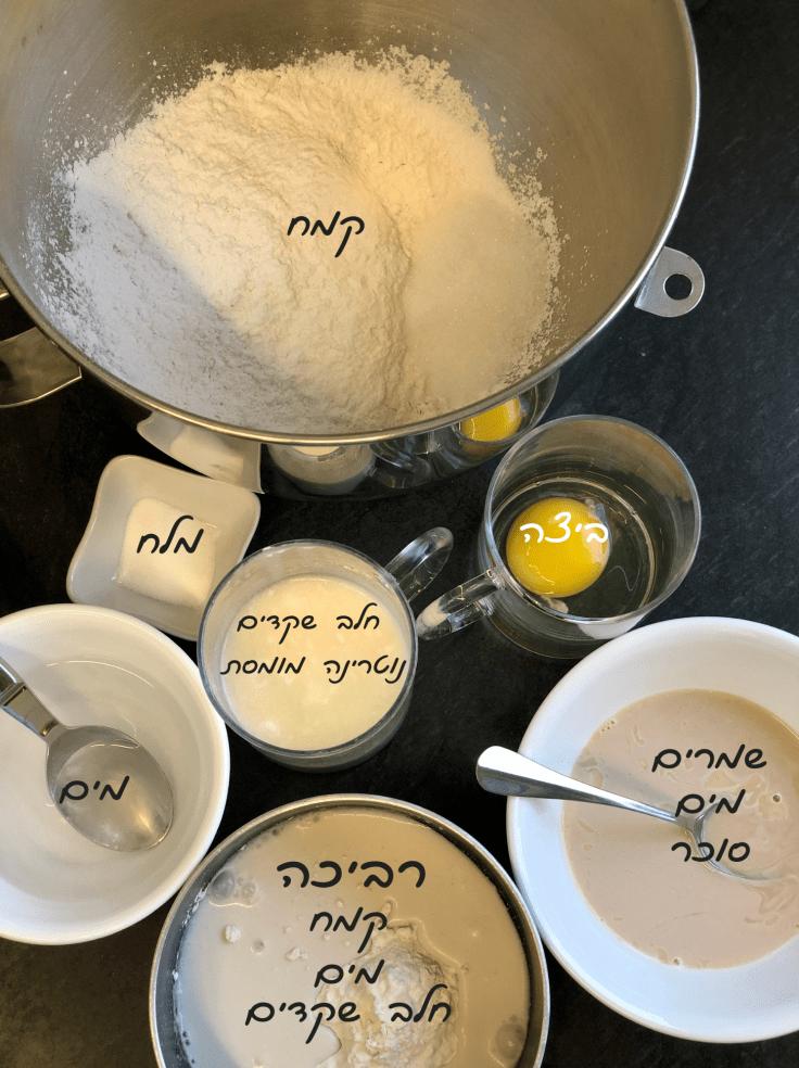 לחמניות חלב יפניות ללא גלוטן ופרווה
