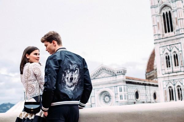 Valentin wolf jacket