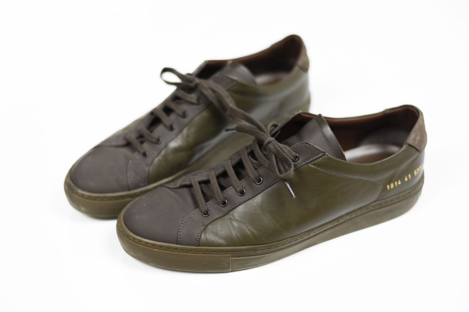 crime london sneaker green