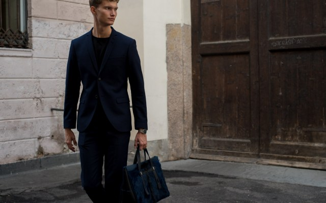 Tiger of Sweden Wool Suit & Furla Bag | Milan