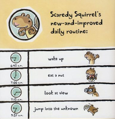 scaredy squirrel pat's chat